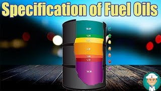 Specification of Marine Fuel Oils