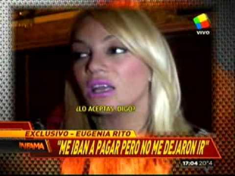 Guerra entre canales / A María Eugenia Ritó no la dejaron ir a Telefe