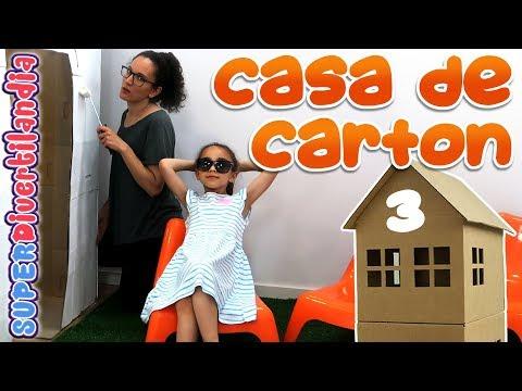 Mi Casita de Cartón! #3 Casa de juguetes para niños.