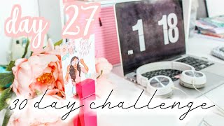 5 Things To Add To Your Desk  Day #27: 30 Day Get Your Life Together Challenge[roxy James]#gylt