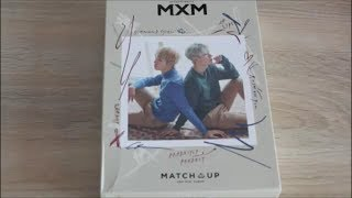 [Unboxing album] : MXM (BRANDNEW BOYS) Mini Album Vol. 2 - MATCH UP