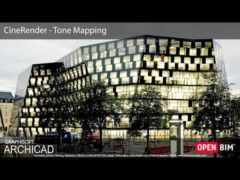 ARCHICAD 22 - CineRender - Tone Mapping