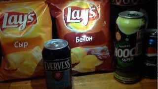Покупки на очередной стрим-чипсы Lay's, напитки Hooch, Pepsi