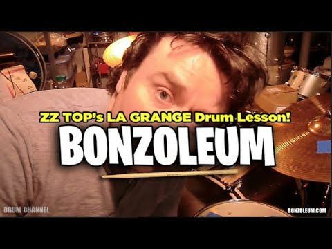 ZZ TOP's  * LA GRANGE *  DRUM LESSON