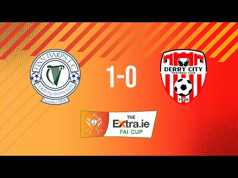 Extra.ie FAI Cup Second Round: Finn Harps 1-0 Derry City