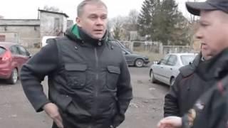 В Калининградской области полицейские задержали подозреваемого в хулиганстве