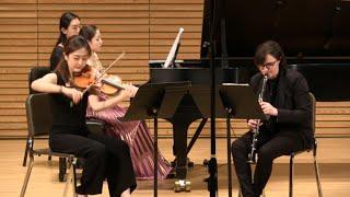 Paul Schoenfeld Trio for Clarinet, Violin and Piano (1990)