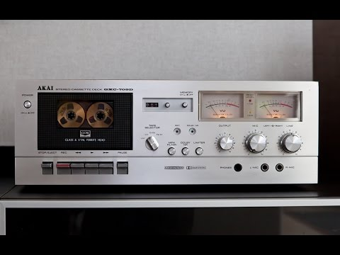 AKAI GXC 709D Demo