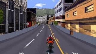 Road Rash 95 (PC version) - 60fps test