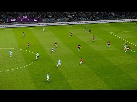 Manchester City vs Southampton | League Cup | 29 Octobre 2019 | PES 2020