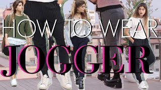 How to wear JOGGERS - 4 LOOKS