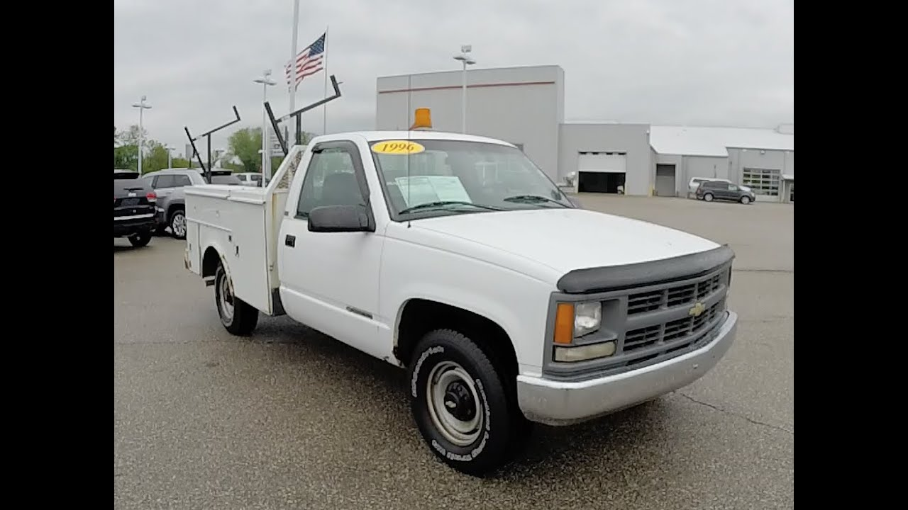 1996 Chevrolet C3500 Cheyenne Regular Cab Utility Truck 4X2 18341M ...