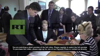Ukraine: Yulia Tymoshenko confirms presidential run