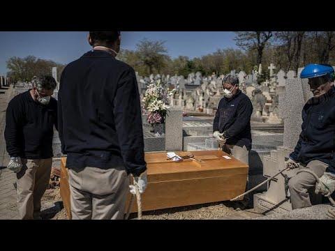 Коронавирус, Испания: новый антирекорд числа погибших, но распространение инфекции замедляется…