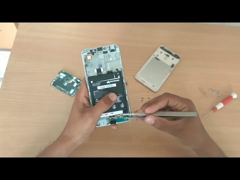 competitive price 11ee0 8e4cb Repair Micromax Evok Note/ power & How to Open Back Cover Micromax ...