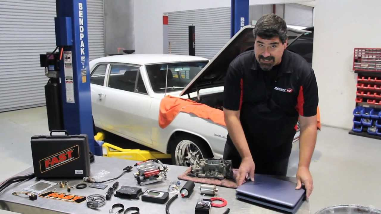 The Quick And Easy Approach To Electronic Fuel Injection With The Fast Ez-efi System