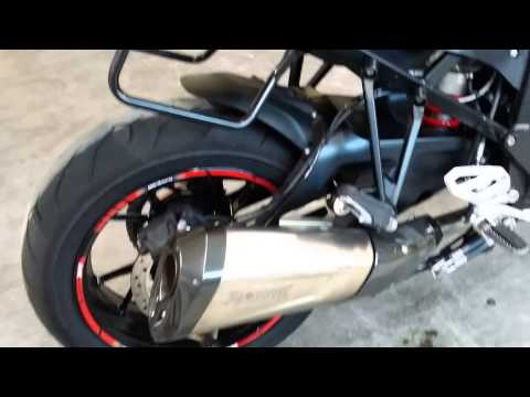 Bmw S1000xr Akrapovic Full Top Sound Youtube