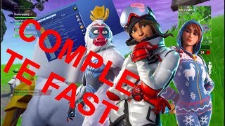 How to Complete Overtime Challenges FAST in Fortnite | Overtime Challenges COMPLETE Guide