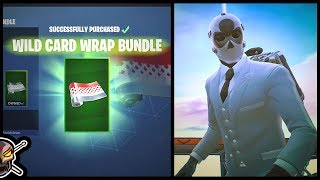 *NEW* WILD CARD WRAP BUNDLE in Fortnite
