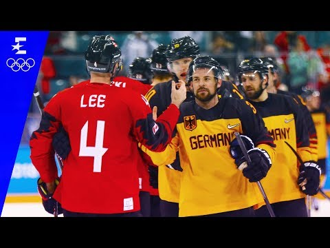 Ice Hockey | Germany v Canada | Men's Semi-Final Highlights | Pyeongchang 2018 | Eurosport