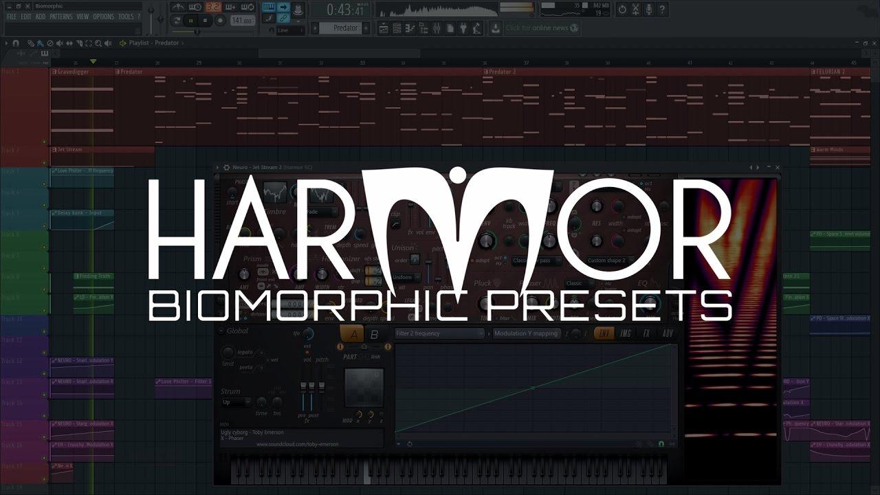 Harmor Preset Library | Biomorphic