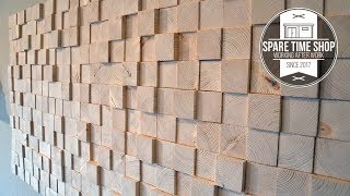 Too Many Blocks / DIY Wall Decoration from Wood