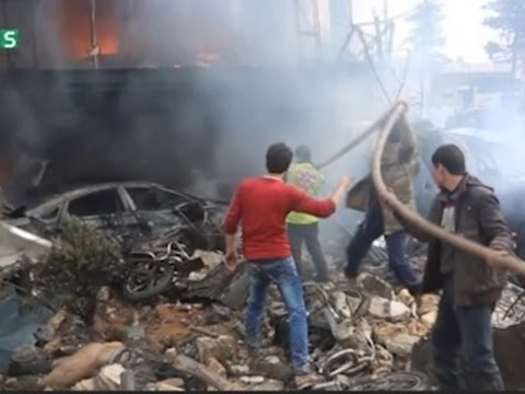 Raw: Aftermath of Deadly Syria Blast