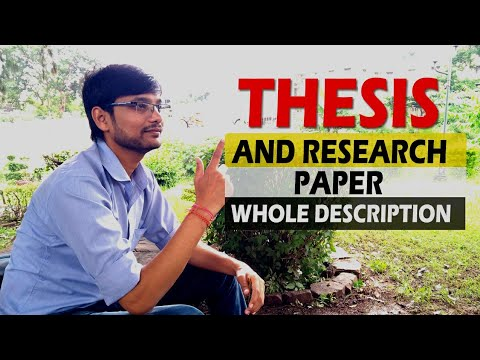 How To Choose A Thesis Topic  In Hindi || TRICKY YASH#THESIS,#MTECH,#BTECH