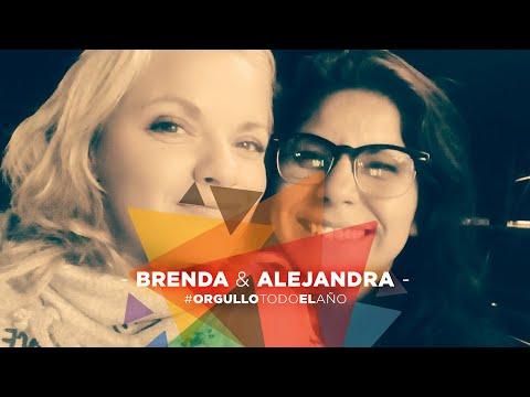 Brenda y Alejandra 🏳️🌈❤️ #OrgulloTodoElAño