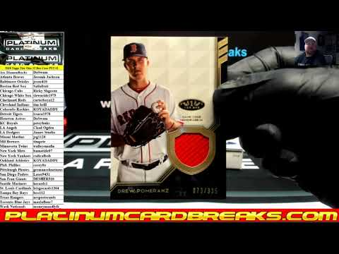 2018 Topps Tier One Baseball 12 Box Case PYT #1 ~ SICK BOOKLET!