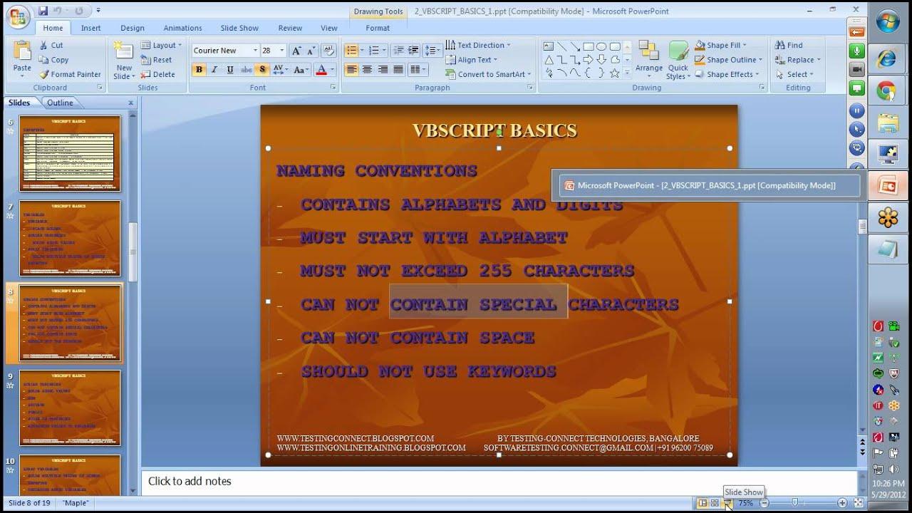 Uft training videos software testing.