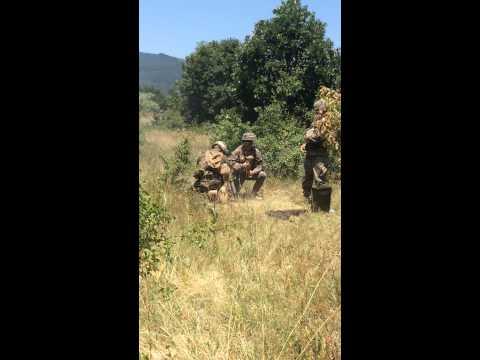 60 mm mortar FFE, 2nd Battalion 8th Marines, Golf Company
