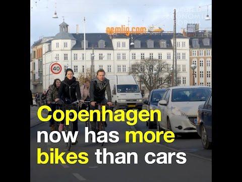 Copenhagen now has more bikes than cars
