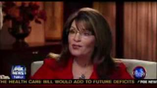 Sarah Palin about the Katie Couric interview: