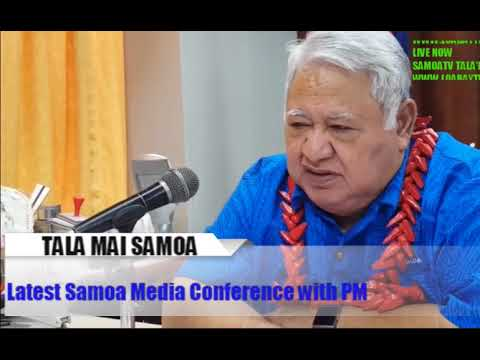 Vid1 : Feiloaiga ma le Palemia : Latest Samoa Media Press Co