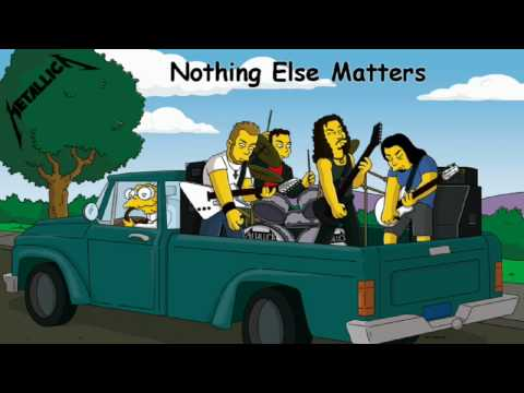 Metallica - Nothing Else Matters backing track with vocals