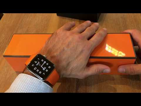 Apple Watch Series 5 Hermes Edition Unboxing