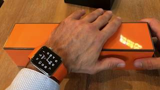 Gambar cover Apple Watch series 5 Hermes edition unboxing