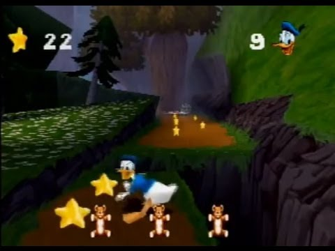 [PSX] Donald Duck Goin' Quackers: Part 1 - Forest Levels