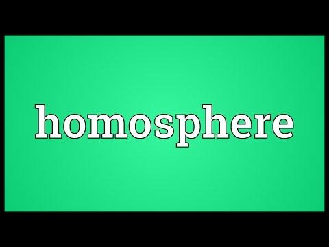 Header of homosphere