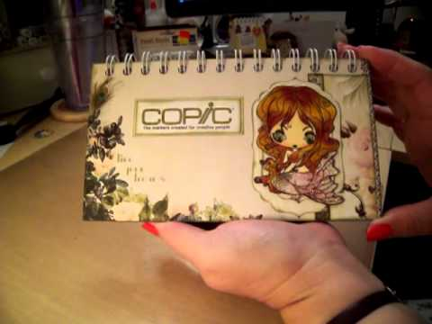 Copic Marker Color Book YouTube