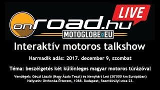Onroad.hu LIVE: magyar túramotorosok kalandjai Ázsiában és Európában