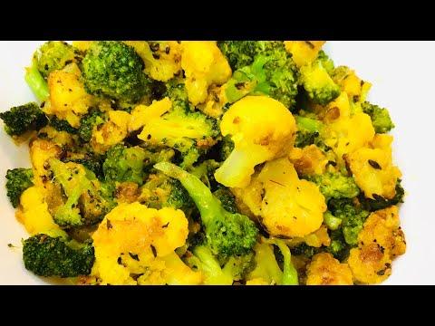 delicious-cauliflower-&-broccoli-recipe-indian-style-|-quick-&-easy-vegan-recipe