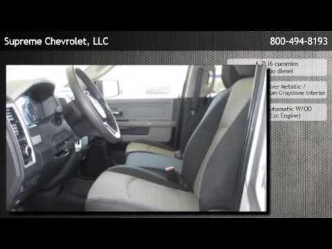 2012 Ram 2500 4WD Crew Cab 6.4 Ft Box SLT  - Baton Rouge