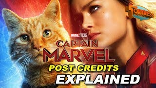 Captain Marvel Post Credits Explained - How does it tie into Avengers Endgame? (Spoilers)