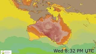 Australia Surface Temperature Weather Forecast HD: 17 Nov 2019 [Updated at 1200 hours UTC]