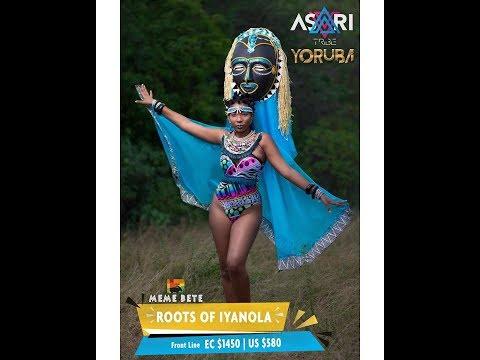 st lucia carnival 2018 bands - Yoruba - By Asari Tribe