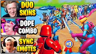 Streamers Host LARGEST Duo SKIN CONTEST | Fortnite Daily Funny Moments Ep.502