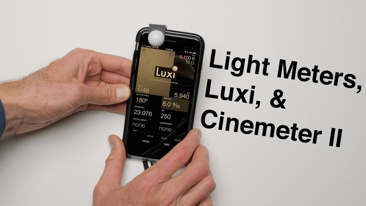 Superb Light Meters, Luxi, Cinemeter II: How Accurate Is Luxi And Cinemeter II? Photo