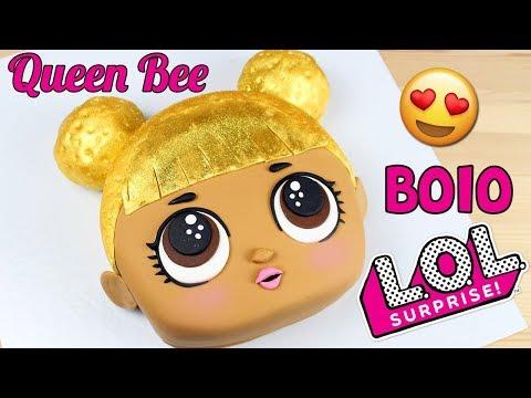 Bolo Queen Bee LOL Surprise | Como Fazer Bolo LOL Surprise ( Queen Bee) | Cakepedia